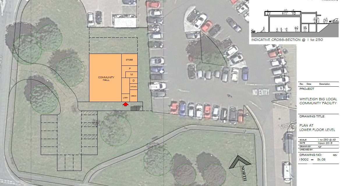 whitleigh community centre draft plan